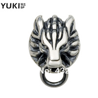 Yuki accessories stud earring male 925 pure silver single personalized fashion vintage thai silver original design