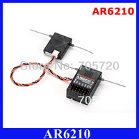 5pcs/lot AR6210 Receiver 2.4Ghz 6-Channel Free Shipping