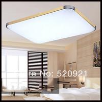 AC85-265V Led ceiling light square acryl LED ceiling lamp 650mm 48W living room/bedroom/balcony lights lamps modern LED lamps