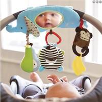 SKP multi-function elephant baby children ha ha the mirror baby bed distorting mirror lathe Hanging Mobiles