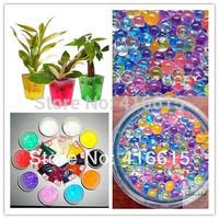 4000 Pcs,200 Pieces/bag,Pearl shaped Crystal Soil Water Pearl Beads Mud Grow Magic Jelly balls wedding Home Decor,Aqua Pearls