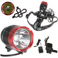 CREE XM-L T6 SSC LED 3Mode Bike Head Light Lamp Torch P7 +4x 18650+Charger  ON0114