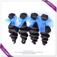 Malaysian virgin hair loose wave 4pcs Unprocessed virgin hair extensions Cheap human hair weave bundles cheap Rosa hair products