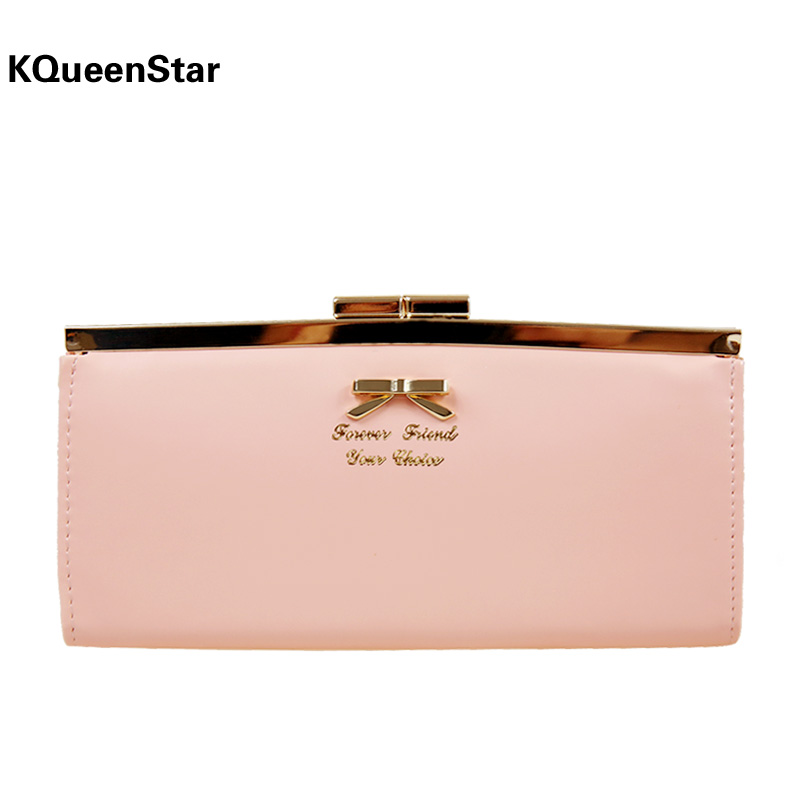 2014 new arrival leather women wallets woman messenger bag women's design wallet change purse for women FREE shipping KARAN C014(China (Mainland))