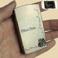 Charge lighter windproof lighter metal usb pulse electronic cigarette lighter
