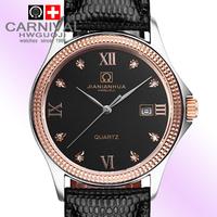 Carnival watch fashion commercial male watch waterproof stainless steel strap mens watch