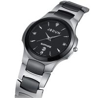 Watch tungsten ceramic fashion quartz watch table vintage table male watch