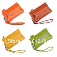 2014 New Extended edition Genuine Leather Wristlet Bag Multi function Key Wallet,Fashion Mobile Phone Handbag
