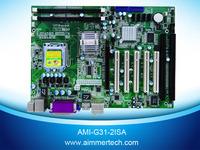 AMI-G31-2ISA With 2 ISA 5 PCI slots industrial computer ATX Motherboard socket 775 mainboard