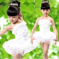 Infant ballet skirt female child dance dress performance wear paillette child costume  kids Ballet Costume