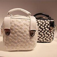 2014 princess bag gentlewomen lace backpack two shoulder backpack rivet backpack bag female bags
