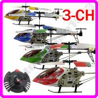 SH 7.5 inch Mini 3CH 3.5 ch Hawk Metal RC Helicopter 3-CH RC Remote Control Built-in Gyro 6020-1 6020 RTF