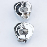 Free Shipping For 1996 - 2012 Harley Daidson Dyna Sportsters Softail V-Rod Chrome Switch Housings Covers