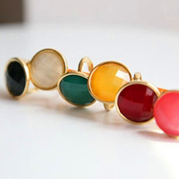 Korean Women Ring Multi-color Rings the Ring for Female Adjustable Size Pearl Rings RD-J013