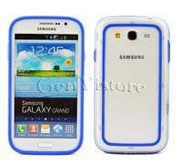 TPU Silicone Rubber Bumper Frame Case Cover for SAMSUNG Galaxy Grand DUOS i9082 i9080