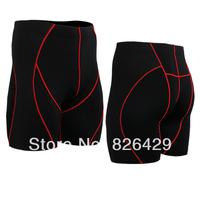 Discount!  Mens Compression sports shorts tight Leggings Base Under Layer Black skin tights shorts running fitness short pants