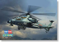 "Aircraft Model 1 / 72 China "" straight 10 \"" attack helicopter 87253 Military simulation assembly model toys 22cm 150pcs"