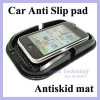 Multi-functional PVC Mobile Phone Shelf car Anti Slip pad antiskid mat For GPS/ iPhone/ Cell Phone Holder