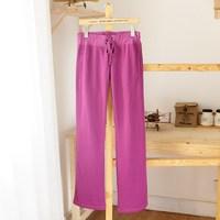 Women's sports pants casual pants trousers lounge plus velvet pants two-color 2