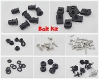 Kawasaki ZX6R 07-08 fairing bolts screws fasteners complete bolt kit