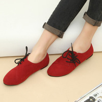 2014 spring and summer new arrival women's shoes fashion british style low single shoes women's comfortable casual flat shoes