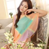 Woven cotton 100% princess nightgown sleepwear summer fashion sexy lounge mm plus size cotton nightgown