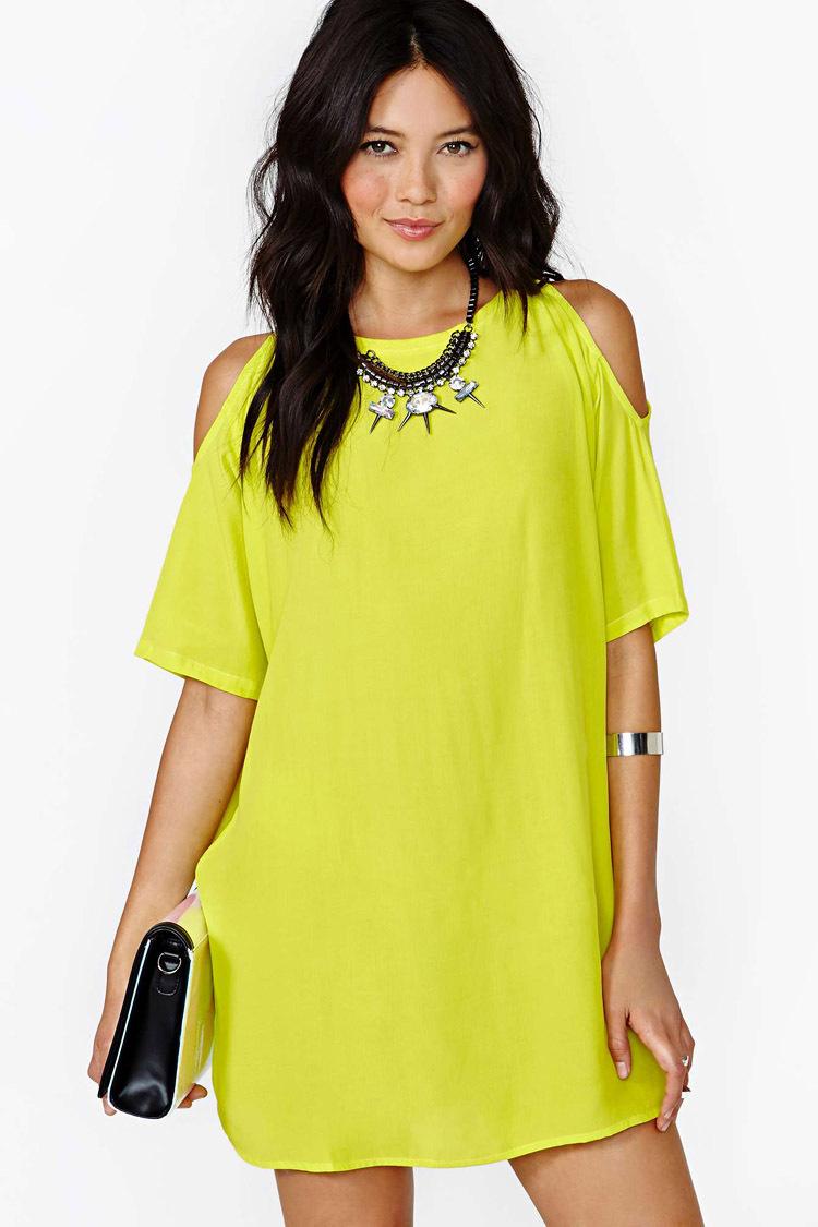 Vestidos De Baño Verde Limon:Los vestidos de jeans practicos, comodo y hermosos para salir una