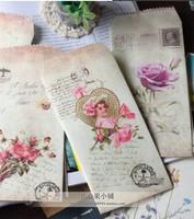 Wholesale  vintage postmark envelopesCamilla Seoul multicolour /diy gilt decorated /150pcs/set/ free shipping