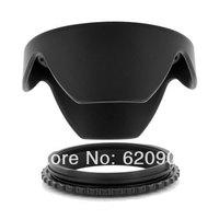 100% GUARANTEE 10X  77mm Black Reversible Lens Hood for Sigma 17-50mm F2.8 EX DC OS HSM HOT FREE