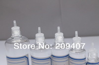 Wholesale free shipping 2500 pieces/ lot 30 ml PET clear eyedrop bottle, dropper bottle, childproof bottle FEDEX