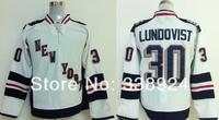 2014 Stadium Series New York Rangers Jerseys #30 Henrik Lundqvist White Mens Ice Hockey Jersey,Embroidery and Sewing Logos
