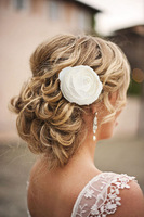 1pc Bridal Hair Flower Clip Hair Band Wedding Bridesmaid Prom