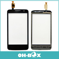 100% Orginal Touch Screen Digitizer Glass For Alcatel One Touch M'Pop OT5020 5020 5020D OT-5020 Black/White Free Shipping