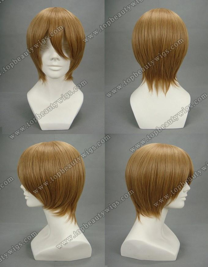Kida Cosplay Wig Kida Masaomi Blonde Cosplay