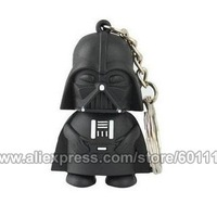 4GB 8GB 16GB 32GB Full Capacity Star War Dark Darth Vader USB Flash Drive pendrive thumb Memory Card Car Pen Key