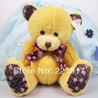 Sitting high 13.5CM valentine teddy bear plush toy factory direct wholesale