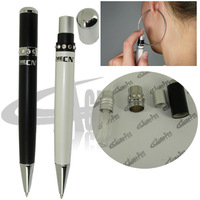 Original Design Unique Ballpoint Pen with Atomizer Metal Heavy Pen Black and White Perfume Pen For Makeup Products Accessories
