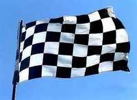 2pcs/lot  3 X 5 feet   F1 race flag Formula One Black & White Chequered flags 90x150CM flags national flagGood quality