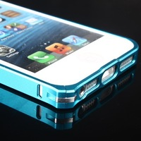 Luxury Ultra-thin 0.7mm Aluminun Metal Bumper Blade Case Frame For iPhone 5 5S
