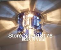 Full set crystal 3w led spotlight wall  led ceiling light bar entranceway aisle lights lamps