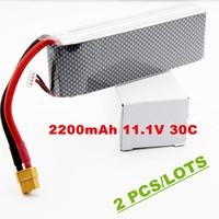 Rechargeable battery DJI 2200mah 11.1v 30c  RC LiPo Li-Poly Battery  for DJI Phantom FC40 with XT60