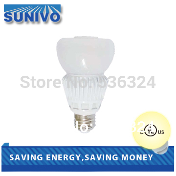 Omni-Directional LED Bulb Lamps 12W/10W/7W Dimmable with dimmer E26/E27/GU24 base White/Warm White(China (Mainland))