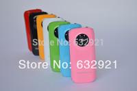 new 2pcs 5600mAh Universal Power Bank Backup External Battery Portable USB Phone Charger