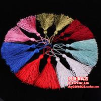 4g diy handmade hair stick cross stitch chinese knot pillow cushion invitation card tassel small round earhead