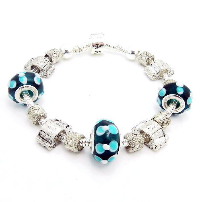 Bracelet fashion bead bracelet european beads 925 silver charm