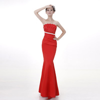 High Quality !  2014 Long evening dress new hot sell formal dress purple red party dress dress free shipping