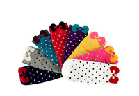 Hot Sale Sweet Candy colorful Dot Pattern women'socks,Pure cotton Mixed Colors ankle socks for women.20 pairs /lot of wholesale