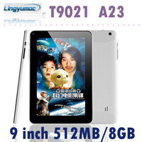 Cheap Dual core tablet 9 inch Allwinner A23  Android 4.2 512MB/8GB  Capacitive Screen 800x480 T9021