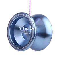 Free shipping Magic YOYO  Blue Lake T5 Alloy Aluminum Professional Yo-Yo YoYo Toy