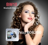 Free Shipping Bluetooth Vibrating Bracelet smart watch with OLED caller's ID Display Applicable for bluetooth mobile phone